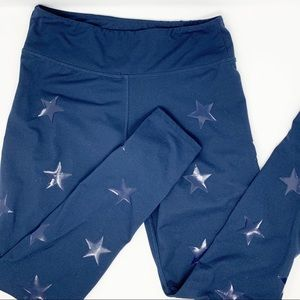 Jessica Simpson Navy Star Leggings